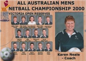 2000 - Men's - Reserves